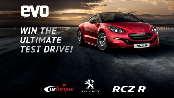 Win the ultimate test drive - evo Australia and Peugeot social media campaign